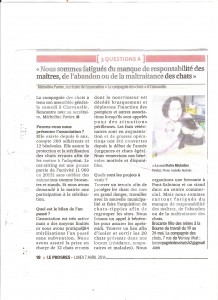 Article du 7 avril 2014